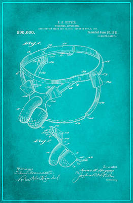 Surgical Appliance Patent Drawing 2a Poster by Brian Reaves