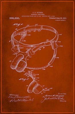 Surgical Appliance Patent Drawing 2c Poster by Brian Reaves