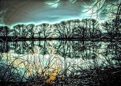 Surreal Landscape Poster by Rhonda Barrett