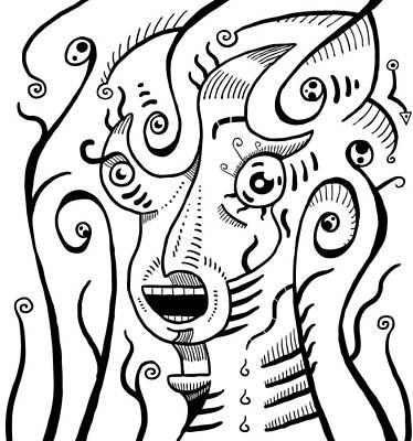 Surreal Scream Poster
