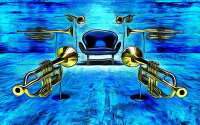 Surround Sound - Da Poster by Leonardo Digenio
