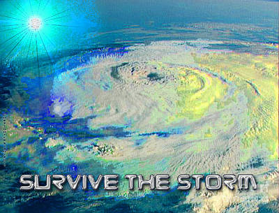 Survive The Storm Poster