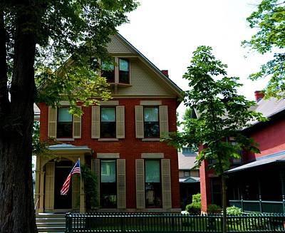 Susan B. Anthony House Poster