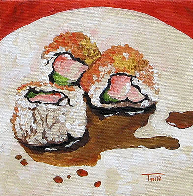 Sushi  Poster by Torrie Smiley