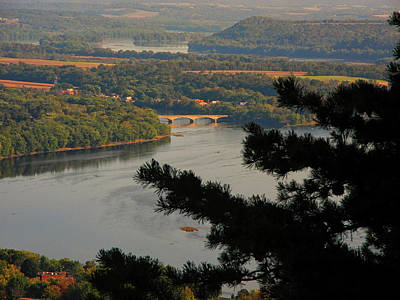 Susquehanna River Below Poster