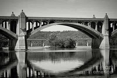 Susquehanna River Bridges  Poster