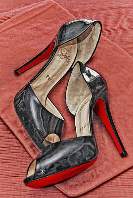Suzette Loves Her Louboutins Poster