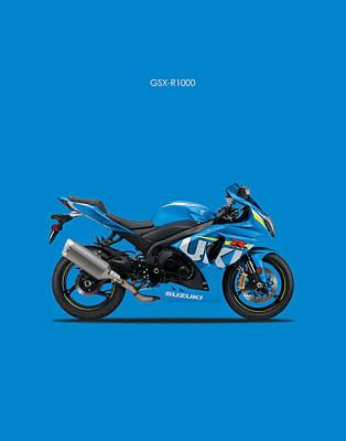 Suzuki Gsx R1000 Poster by Mark Rogan