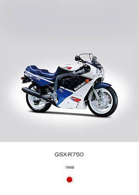 Suzuki Gsx-r750 1988 Poster