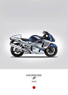 Suzuki Hayabusa 2005 Poster by Mark Rogan