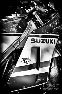 Suzuki Rg500 Poster by Tim Gainey