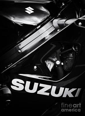 Suzuki Poster by Tim Gainey