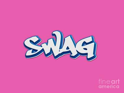 Swag Tee Poster by Edward Fielding