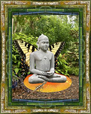 Swallowtail Sage Poster