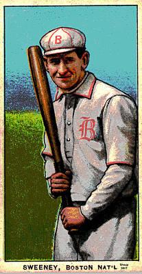 Sweeney Boston Nationals  Poster