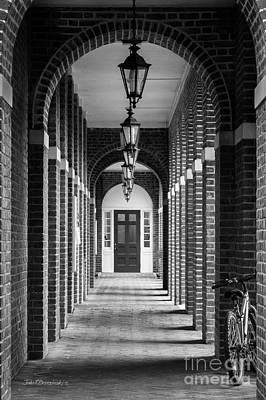 Sweet Briar College Benedict Hall Walkway Poster