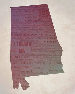 Sweet Home Alabama Poster by Dan Sproul