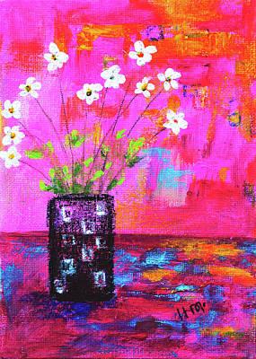 Sweet Little Flower Vase Poster
