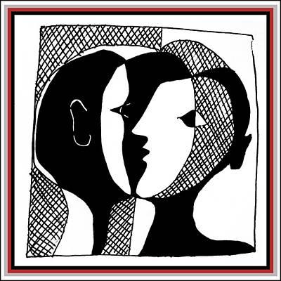Poster featuring the digital art Sweet Nothings by Vagabond Folk Art - Virginia Vivier