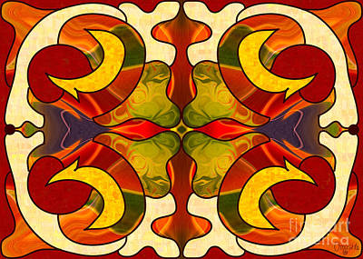 Sweet Sensations Abstract Art By Omashte Poster