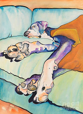 Sweet Sleep Poster by Pat Saunders-White
