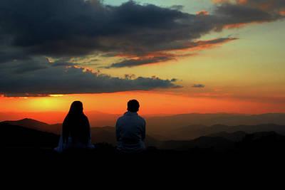 Sweetheart Sunset Poster