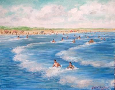 Second Beach, Newport Ri  Poster