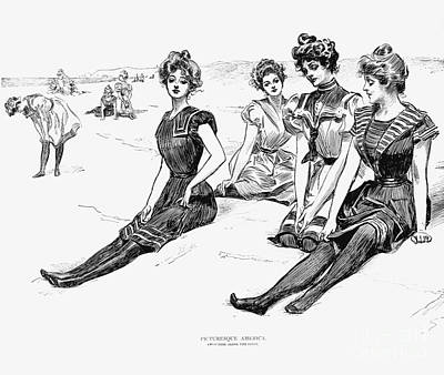 Swimsuits, 1900 Poster