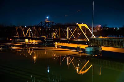 Swing Bridge Poster by Michael Tucker