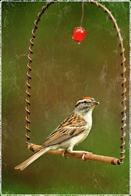 Swinger Poster by Geraldine Scull