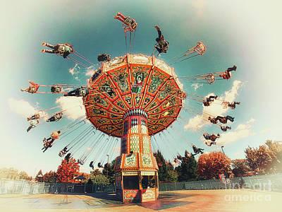 Swingin' Poster by Mark Miller