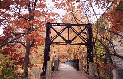 Swinging Bridge Poster
