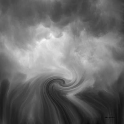 Swirl Wave Vi Poster by David Gordon