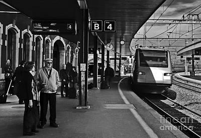 Switzerland - Arth-goldau Station Poster