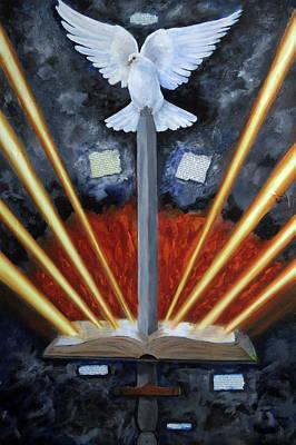 Sword Of The Spirit Poster by Anita Ann Johnson