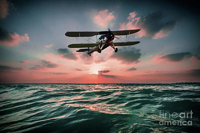 Swordfish Torpedo Bomber Poster by J Biggadike