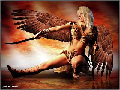 Swords Of The Hawk Woman Poster