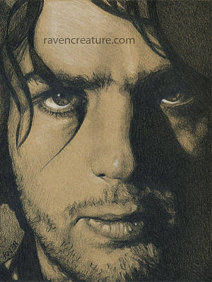 Syd Barrett Of Pink Floyd Poster by Raven Creature
