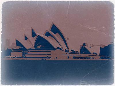Sydney Australia Poster by Naxart Studio