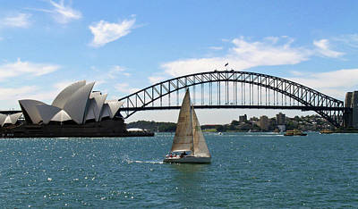 Sydney Harbour No. 1 Poster by Sandy Taylor