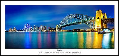 Sydney Icons Poster Print Poster by Az Jackson