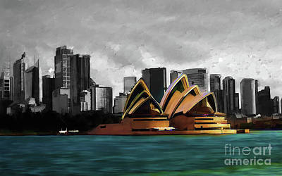 Sydney Opera House 01 Poster by Gull G