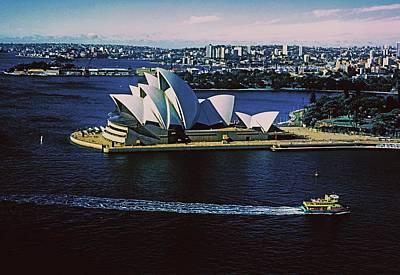 Sydney Opera House Poster by Gary Wonning