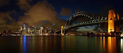 Sydney Skyline Poster by Melanie Viola