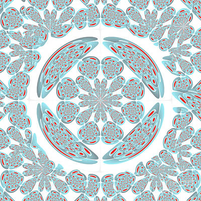 Symmetrical Abstract Poster