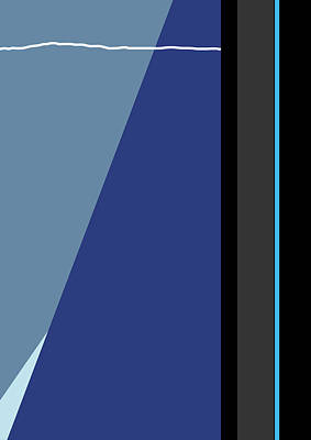 Symphony In Blue - Movement 3 - 3 Poster