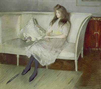 Symphony In White Poster by Paul Cesar Helleu