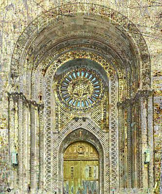 Synagogue Poster by Tony Rubino