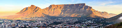 Poster featuring the photograph Table Mountain by Alexey Stiop