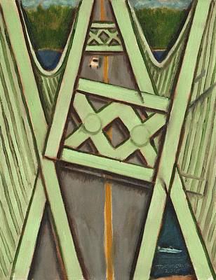 Tacoma Narrows Bridge Collapse  Poster